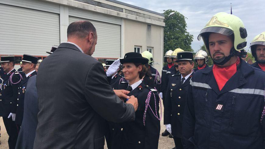 59 pompiers loirétains ont reçu la médaille de la sécurité intérieure.