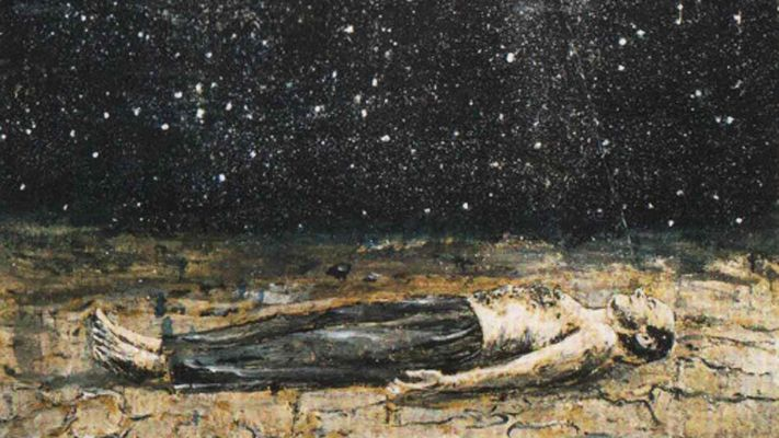 Starfall painted by Anselm Kiefer