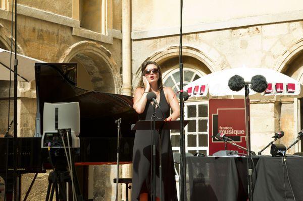 Julie Fuchs dans le Carrefour de Lodéon en direct du Festival d'Aix-en-Provence