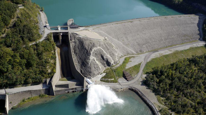 Le barrage de Notre-Dame-de-Commiers ©EDF