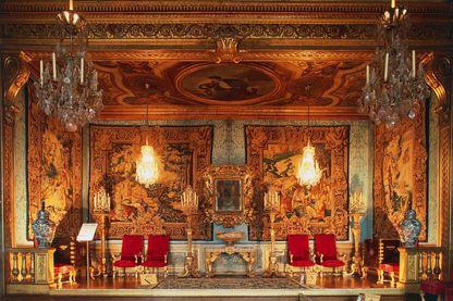 La chambre des muses, château de Vaux le Vicomte