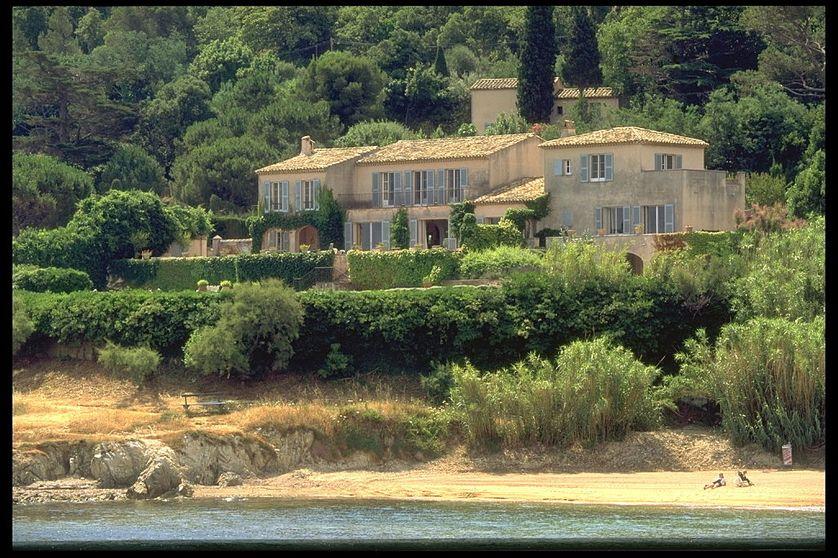 Une villa à St Tropez