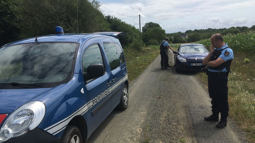 Une quinzaine de gendarmes ont été mobilisés sur l'opération