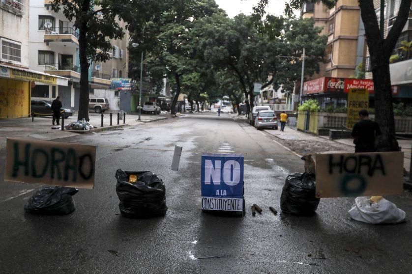 Caracas, Venezuela, 20 juillet 2017