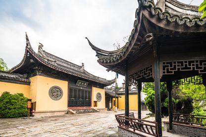 Temple taoïste dans l'ancienne ville de Nanxun