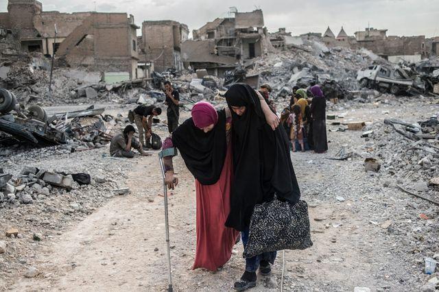 Depuis octobre 2016, environ 862000 personnes ont été déplacées de Mossoul, dont quelque 195000 sont revenues dans la ville, selon le HCR.
