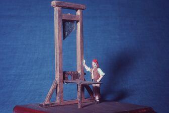 Représentation de la guillotine