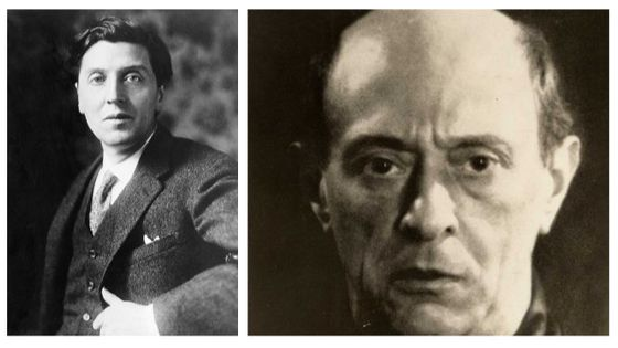Alban Berg, 1920 / Arnold Schönberg, 1927