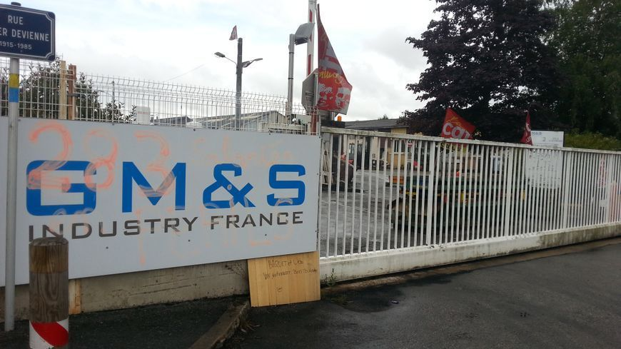 L'équipementier automobile GM&S à la Souterraine (23)