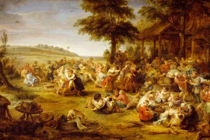 La foire, de Peter Paul Rubens (1577-1640).