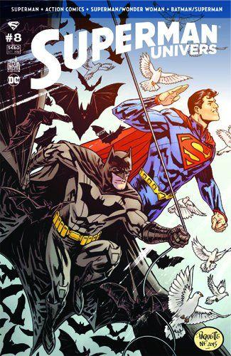 Première de couverture du comics Superman Univers
