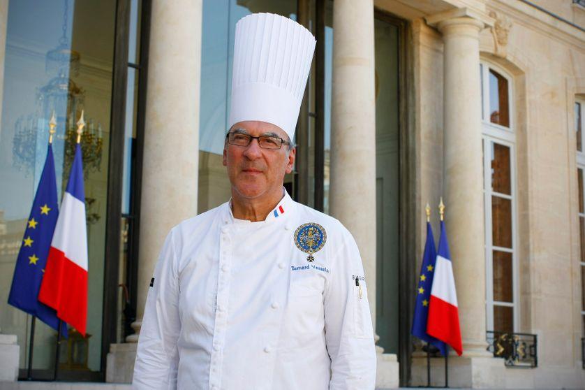 Bernard Vaussion au Palais de l'Elysée en 2012