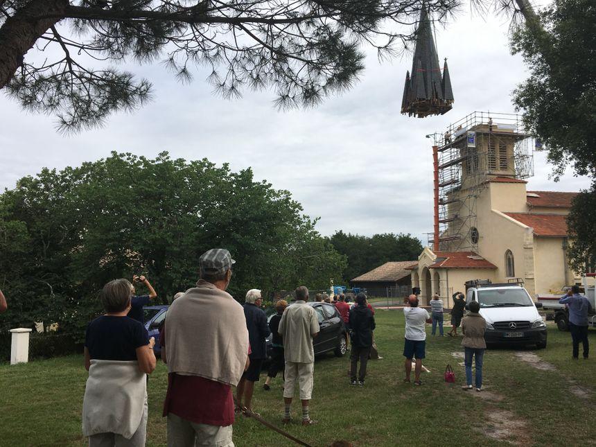 La rénovation du clocher coûte 140.000 euros à la commune