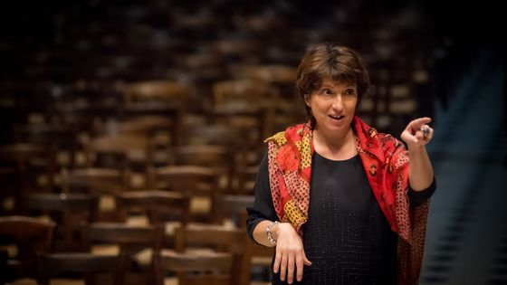 Françoise Lasserre, directrice artistique de l'ensemble Akadêmia.