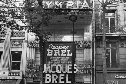 Brel à l'Olympia, octobre 1964