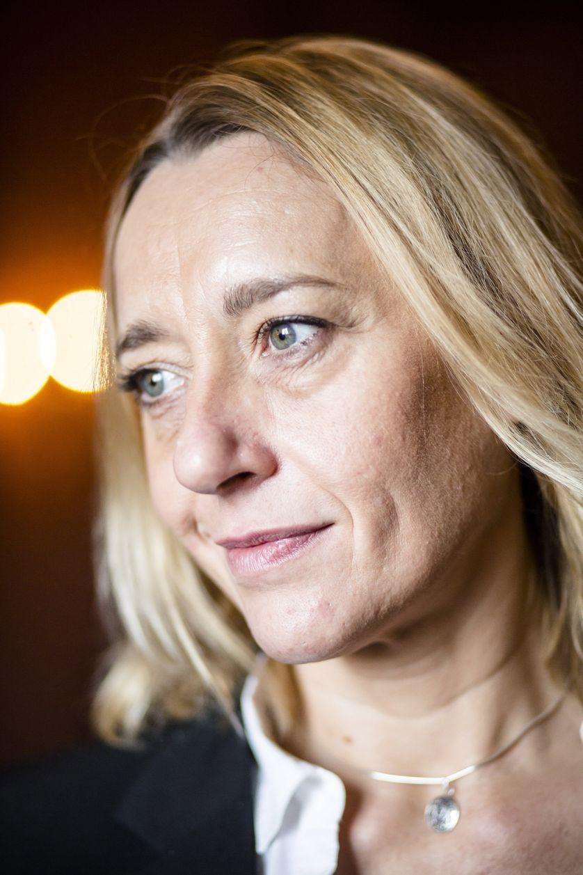 Portrait de Virginie Despentes (membre du jury du prix Femina 2015)