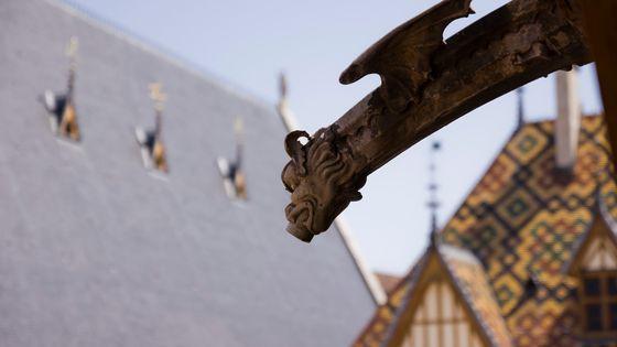 Gargouille des Hospices de Beaune, lieu du festival international de musique baroque et romantique de Beaune