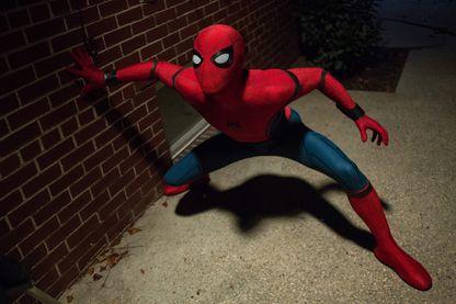 "Photo du film ""Spider-Man : Homecoming"" avec Tom Holland"