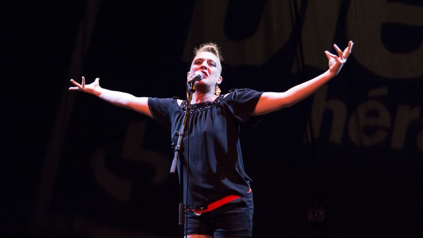 Barbara Weldens  au Bleu Hérault Live festival du Crès