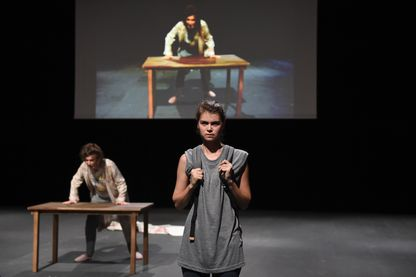 « Roberto Zucco » en juillet 2017 au Festival d'Avignon