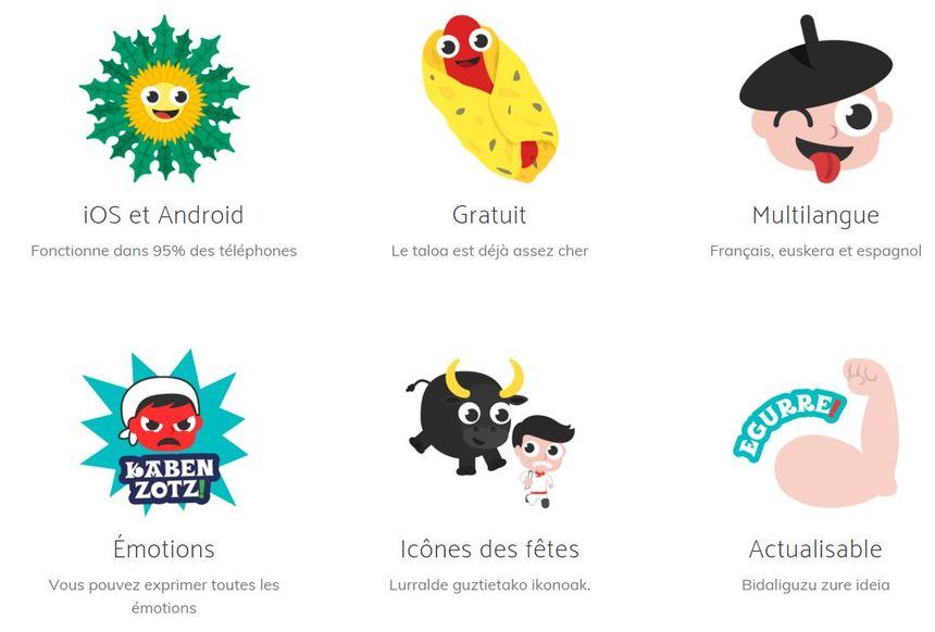 """L'application """"Euskal Moji"""" est disponible gratuitement sur Android et IOS"""