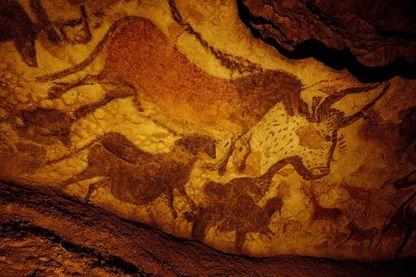 Le cheval est l'une des figures les plus connues parmi les peintures de Lascaux