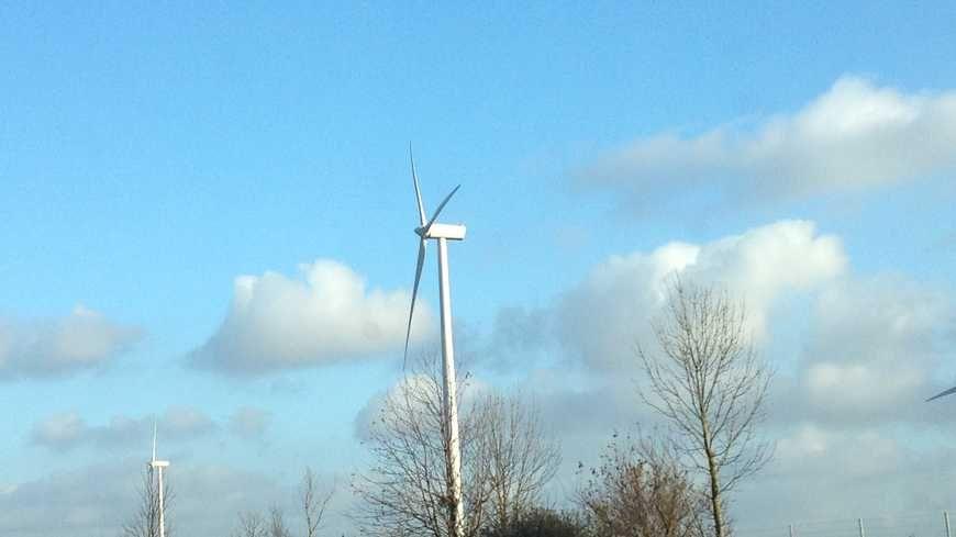 La Somme est le département qui compte le plus d'éoliennes - Image d'illustration.