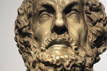 Buste d'Homère conservé au Pergamon Museum à Berlin