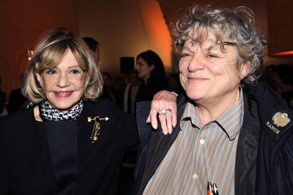 En 2008, Jeanne Moreau aux côtés de son amie Josée Dayan