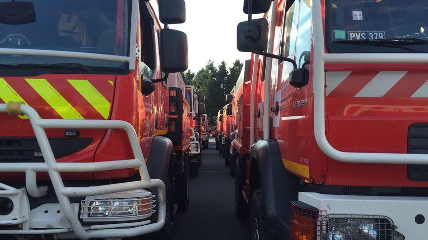 Une centaine de pompiers d'Ile de France sont partis en renfort dans le sud