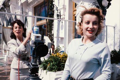 Pauline Lafont lors du Festival du film italien de Nice le 14 mars 1980.