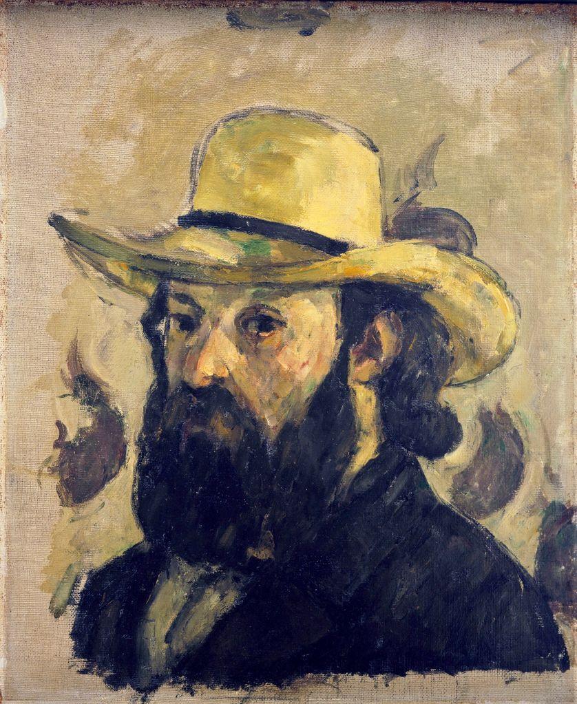 Portrait de l'artiste au chapeau de paille, 1878-1879