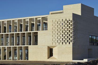 La médiathèque de Frontignan - Architecte : Tautem