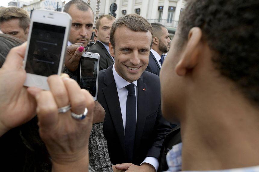 Emmanuel Macron samedi à Rennes
