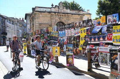Rue d'Avignon, pendant le Festival - juillet 2017