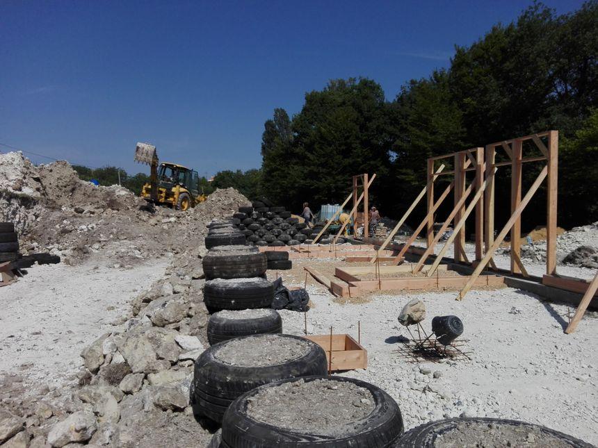 Le chantier doit se terminer le 13 août prochain