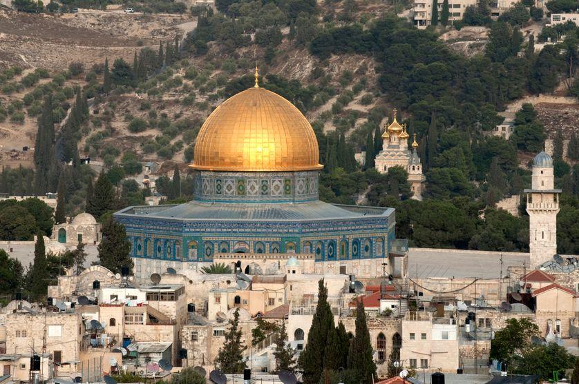 Israël, Jérusalem, Dôme du Rocher