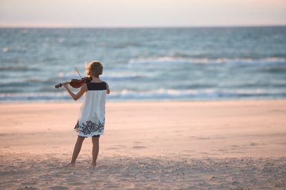 Le Festival Un violon sur le sable, en direct de Royan