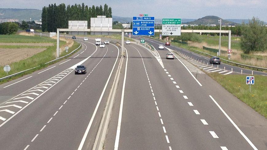 La voiture circulait à contresens à hauteur de l'échangeur de la Grande Halle d'Auvergne