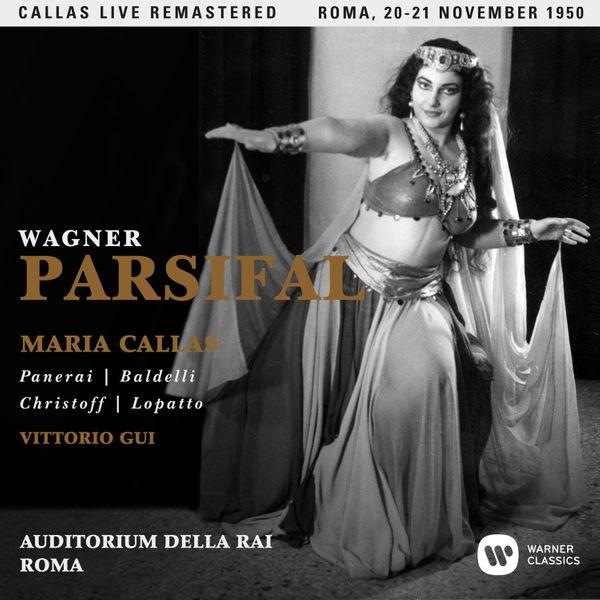 Superbement remastérisé, le Parsifal de Wagner (en italien) avec Callas dans le rôle de Kundry...