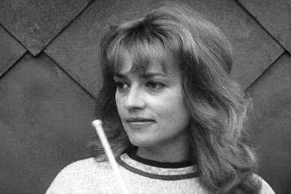"""Jeanne Moreau dans """"Jules et Jim"""" de François Truffaut (1962)"""