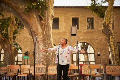 Christiane Taubira à Avignon