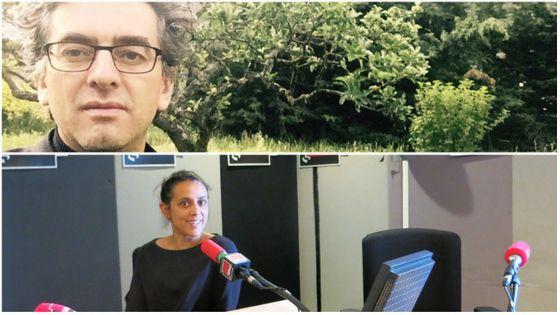 Michael Dian, directeur du Festival de Chaillol & Gabrielle Oliveira Guyon, productrice