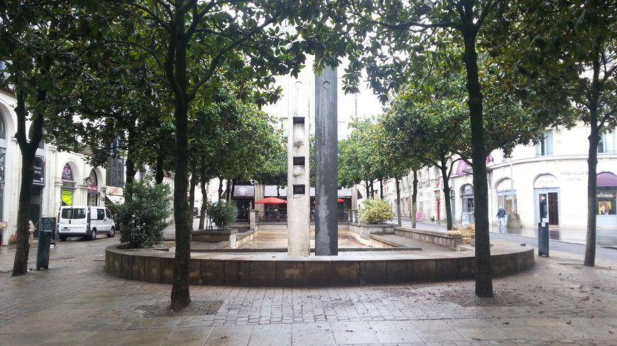 Le square Fleuriot aujourd'hui.