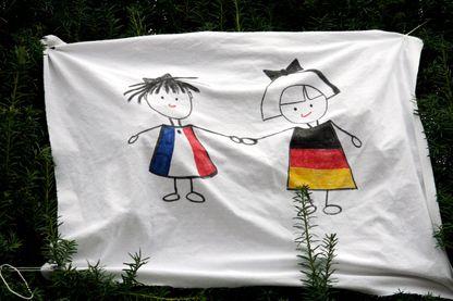 L'amitié franco-allemande.