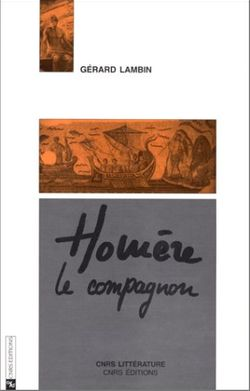 """Première de couverture d'""""Homère le compagnon"""""""
