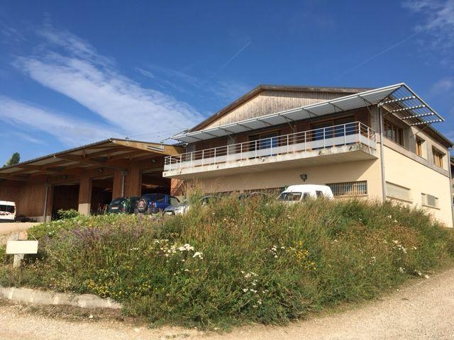 La ferme expérimentale du Domaine Plumecoq à Chouilly