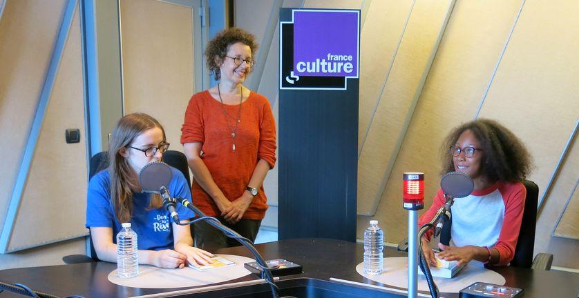 France Culture, studio 152... Les jeunes du club de lecture Lekri Dezados en Seine-Saint-Denis & Valérie Beaugier