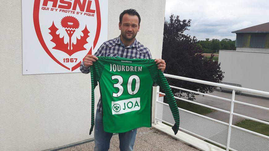 Geoffrey Jourdren a signé pour deux à l'ASNL
