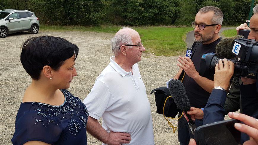 Claude Ducos a rencontré les médias à sa sortie de prison